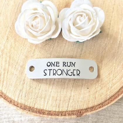 One Run Stronger, Trainer Tags, Run..