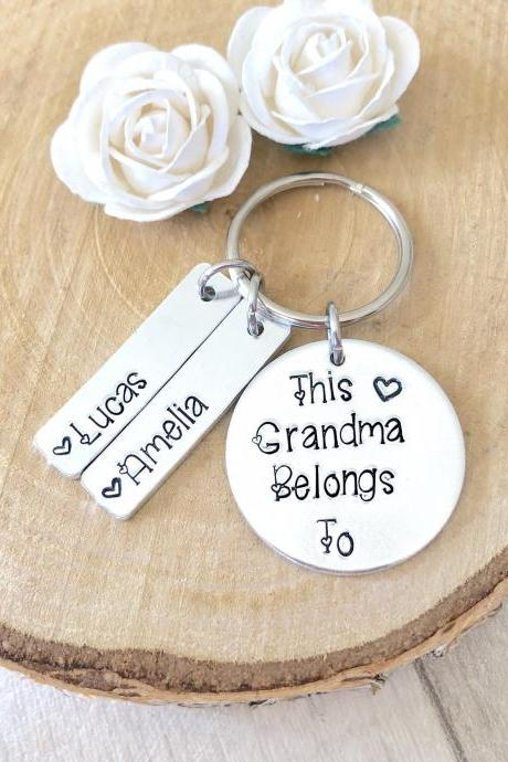 Grandma Gift, Gift for Nanny, Nanna Gift, Nana, New Grandma, Grandmother Gift, Nan Gift, Mothers Day Gift, Handstamped Personalised Gift
