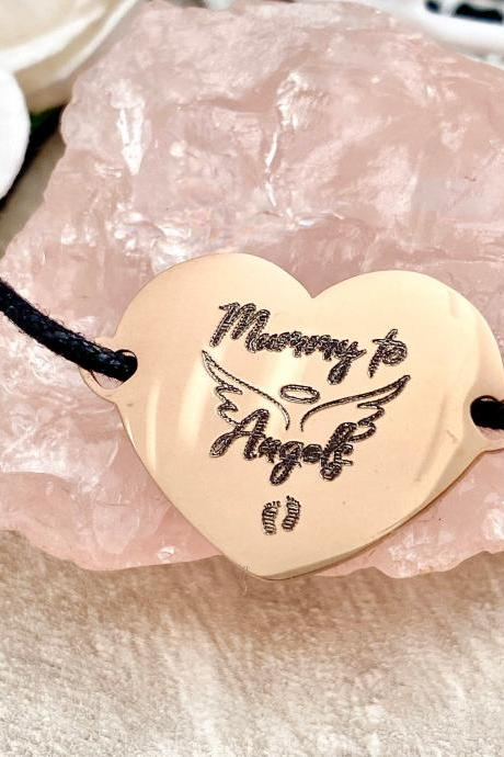 Mummy to Angels, Angel Mum, Baby Loss Jewellery, Miscarriage Stillbirth Gift, Loss of a baby Memorial Gift,