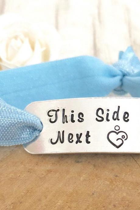 Breastfeeding Bracelet, This Side Next, Breastfeeding, New Mum Gift, New Mom Gift, New Baby Gift, New Mother Gift, Mum to be, mom bracelet