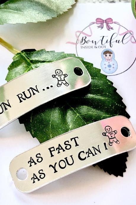 Trainer Accessories, Personalised Tags, Running Shoe Tag, Shoelace Tags, Running Tags, Shoe Tags, Running, Motivation, Marathon Gift, Gym