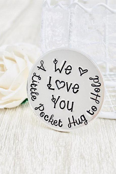 Pocket Hug, Little Pocket Hug to Hold, Token Gift, Missing You, Love You, Friend Family Gift, Lockdown,