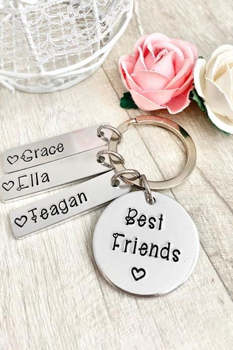 Best Friend Gift, Gift for Friend, Friendship, Personalised Gift, Friends Keyring,