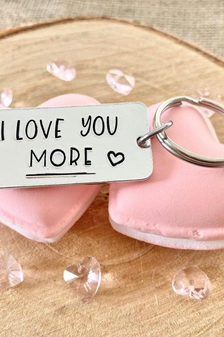 Love You More, Valentine's Day Gift, Anniversary Gift, Funny, Gift for Men Husband Boyfriend, Girlfriend Wife Gift, Valentine, Anniversary