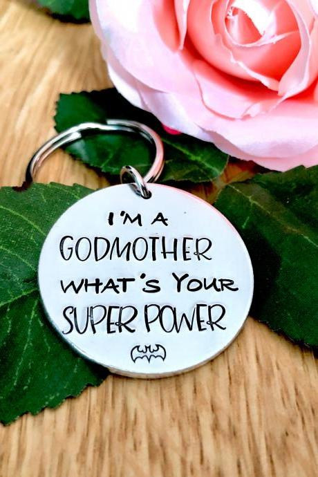 I'm a Godmother whats your superpower?, godmother gift, christening gift, godparent gift, godmother, godmother present, guardian gift